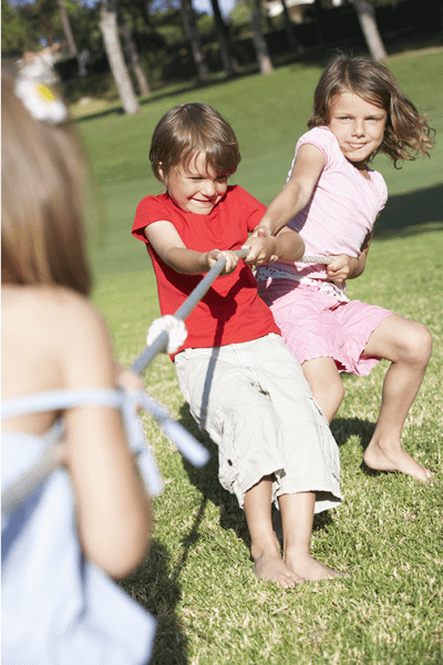 Children Playing Tug Of War-3