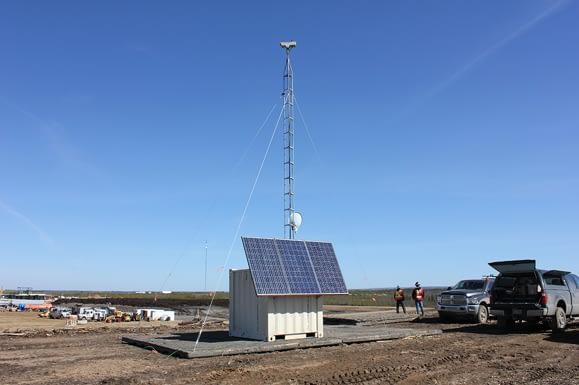 Oil & Gas (Cloud-Based) Time-Lapse Construction Video